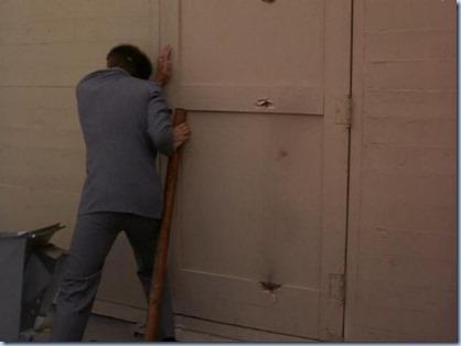holding the door 2