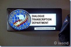 dialogue transcribing