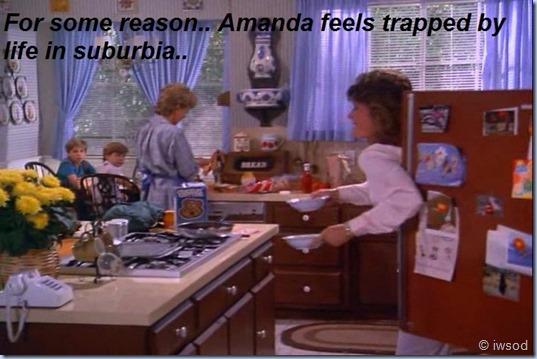 Amanda feels trapped
